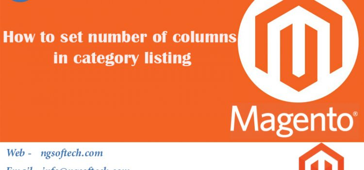 How to set number of columns in category listing