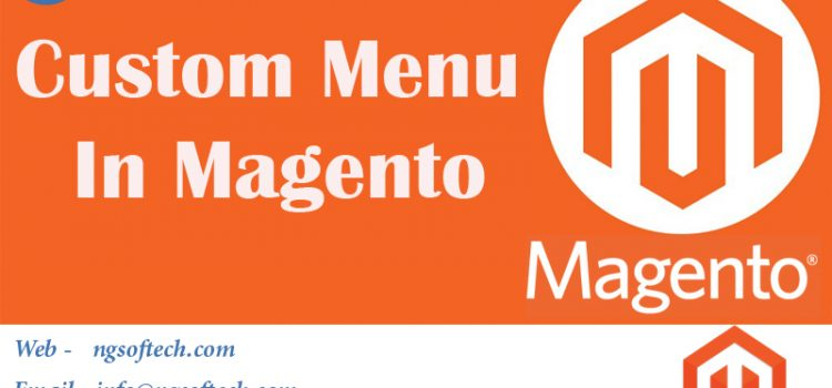 Custom Menu In Magento